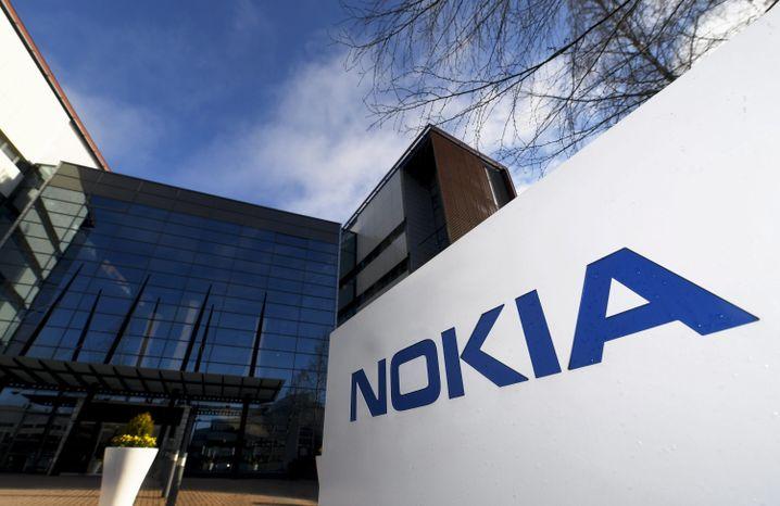 Nokia-Zentrale in Espoo, Finnland