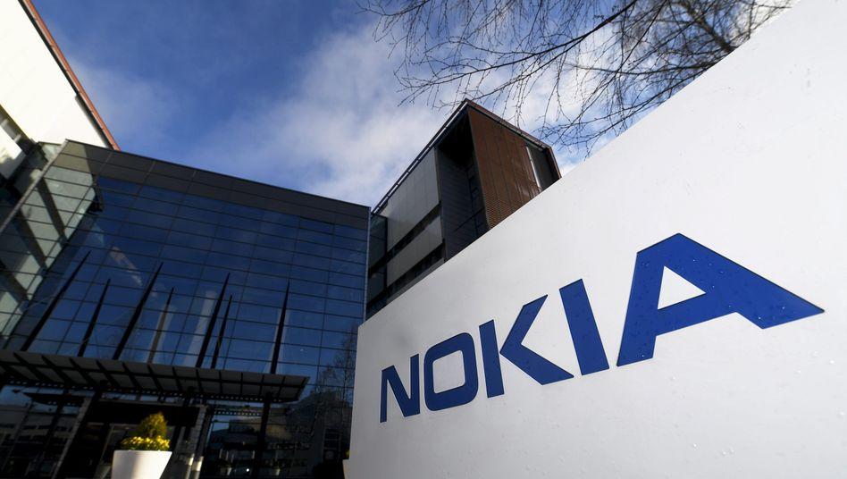 Hauptquartier von Nokia in Espoo, Finnland