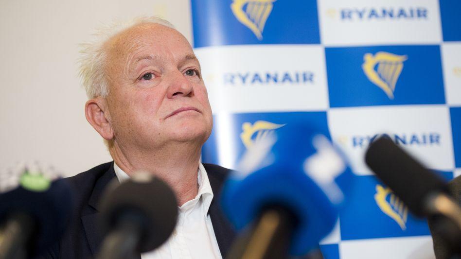 """Eddie Wilson: Der bisherige Ryanair-Personalchef hat sich bei den Gewerkschaften den Spitznahmen """"The Terminator"""" erarbeitet"""