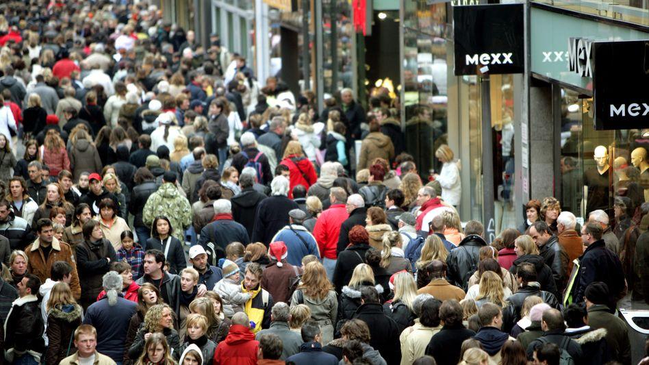 Gute Stimmung: Die Einkommensaussichten und die Anschaffungsneigung haben sich verbessert
