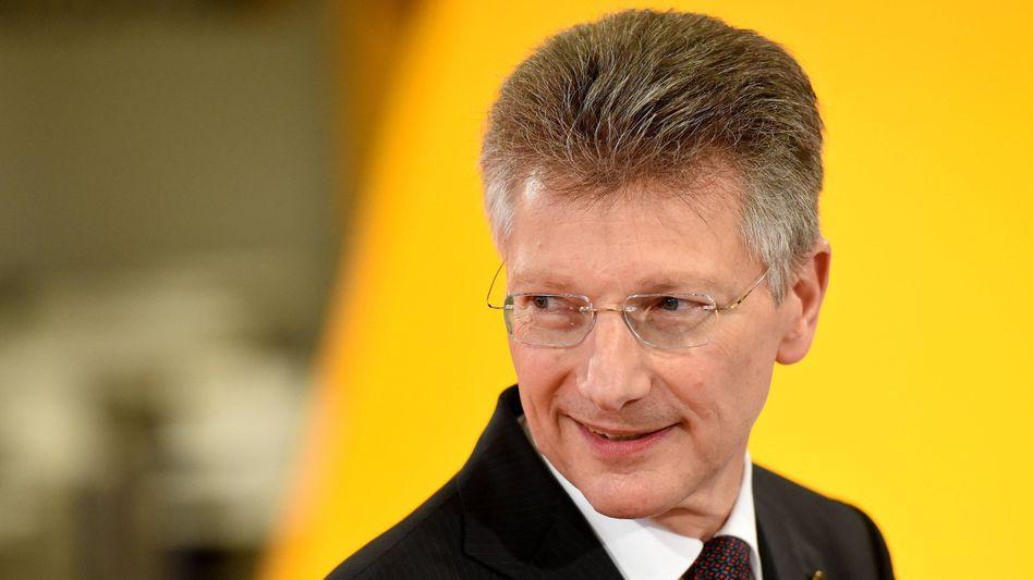 Macht Schluss: Conti-Chef Elmar Degenhart