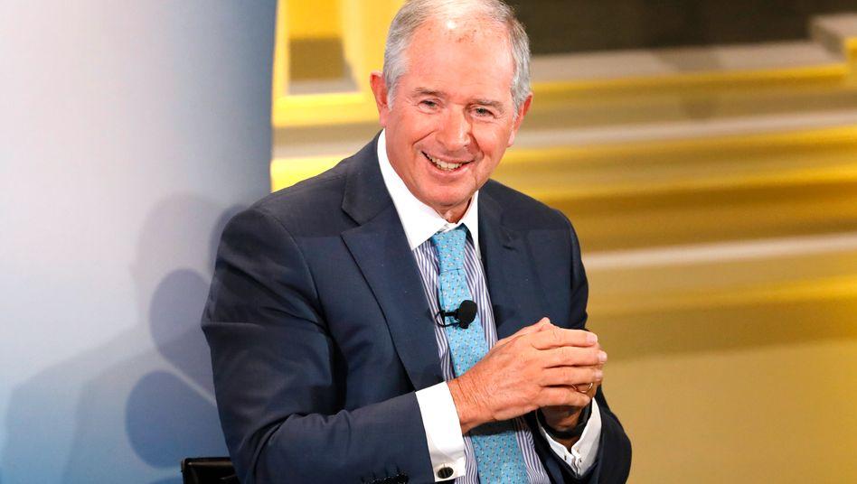 Stephen A. Schwarzman: Fondsmanager und Mitgründer der US-amerikanischen Investmentgesellschaft Backstone