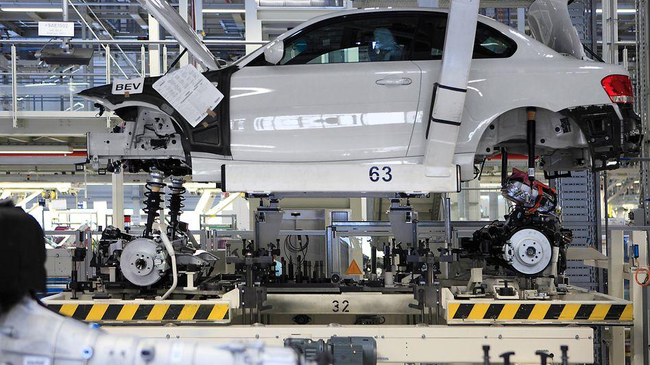 Bau des BMW ActiveE: Unter den deutschen Nobelmarken ist BMW die Nummer eins