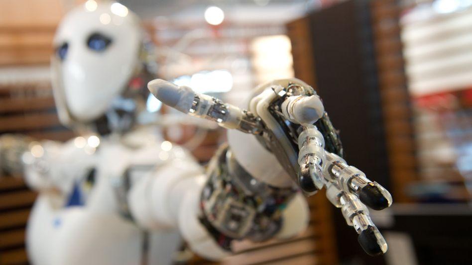 Praktisch Roboter könnten die Sozialkassen füllen, ohne selbst jemals Leistungen zu beziehen