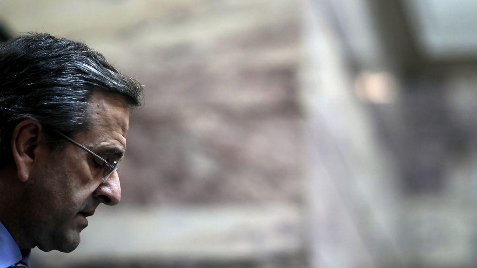 Griechenlands Premier Antonis Samaras: Positive Signale von der Troika aus EZB, IWF und EU-Kommission
