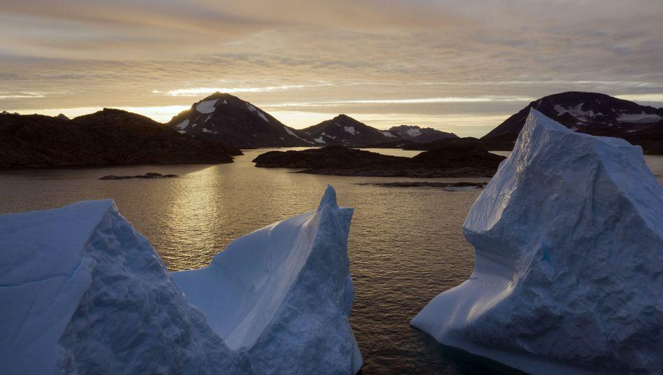 Eisberge in Grönland: Für Trump ist die größte Insel der Welt strategisch bedeutsam