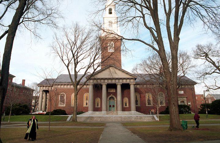 Bildungsbürger für Barack: Die Mitarbeiter der Harvard University zählen zu den größten Spendern Obamas
