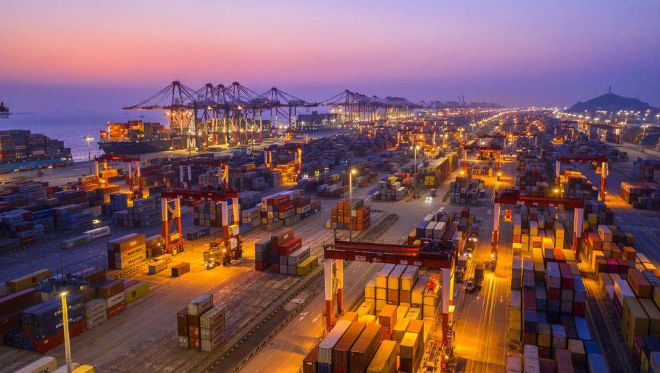 Schnellere und stärkere Erholung: Die Wirtschaft Chinas wird den Experten zufolge in den nächsten Jahren um durchschnittlich 5,7 Prozent wachsen