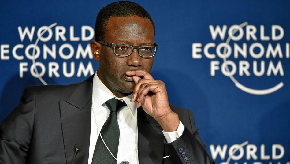 Tidjane Thiam gehört nun zu den bestbezahlten Bankchefs in Europa