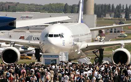 Airbus A340: Großraumflugzeug als Publikumsmagnet