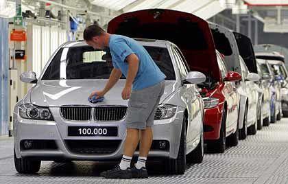 BMW-Mitarbeiter in Leipzig: Hohe Jahresprämie