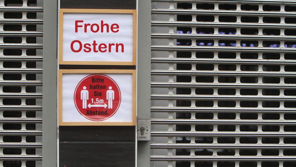 Abstand auch zu Ostern: Ausnahmen und gelockerte Kontaktvorschriften soll es über die Feiertage nicht geben