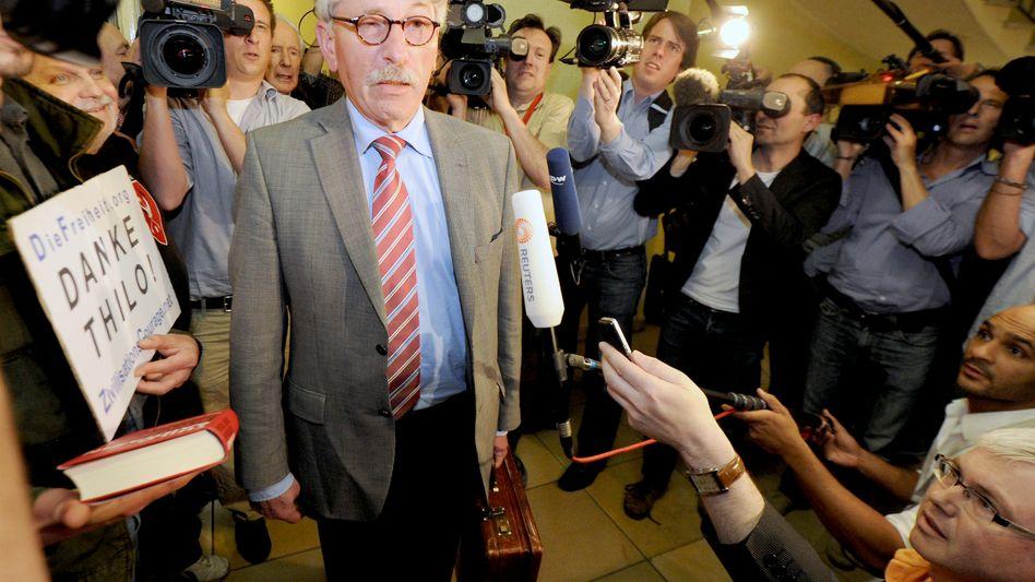 Anhörung unter SPD-Mitgliedern: Thilo Sarrazin bleibt offiziell Sozialdemokrat
