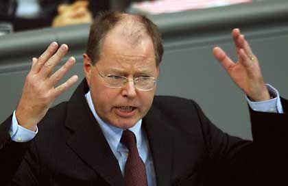 Impulse für mehr Wachstum: Finanzminister Steinbrück
