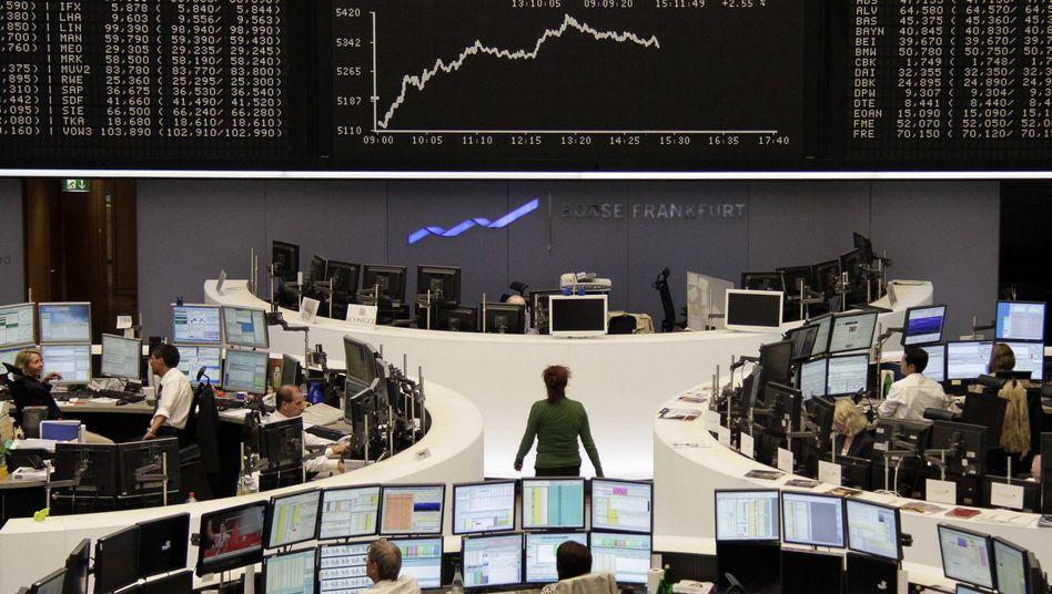 Börse Frankfurt: Nach dem Kursrutsch am Vortag erholte sich der Dax am Mittwoch