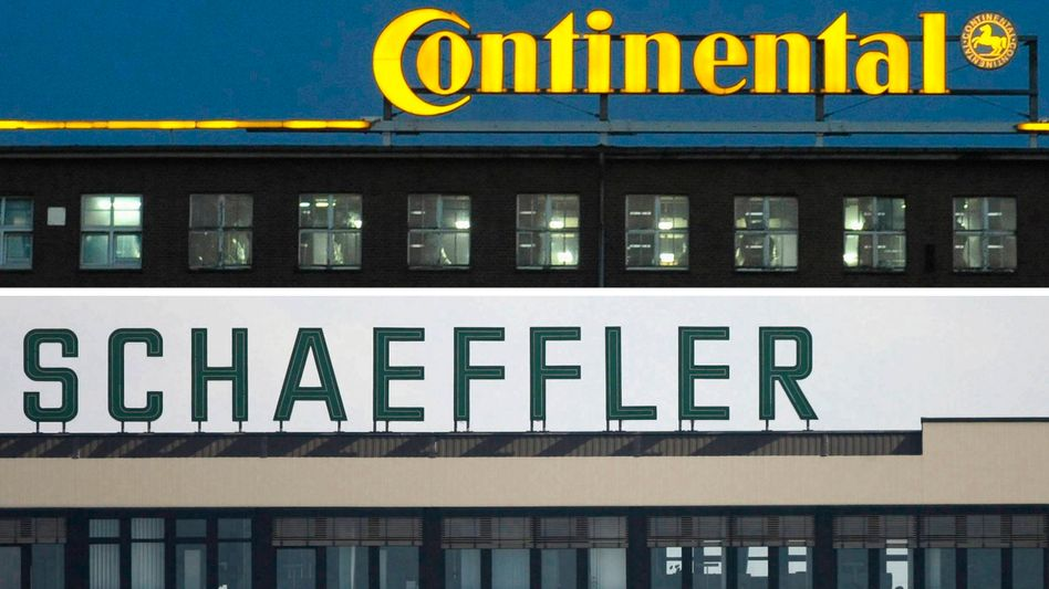 Debatte im Management: Skepsis gegenüber der Fusion von Schaeffler und Continental