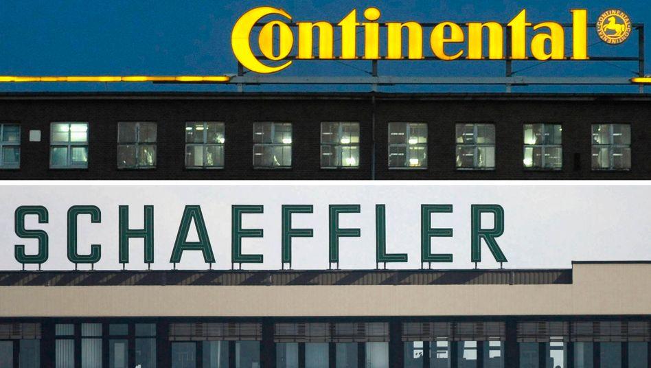Bislang eine eher unglückliche Verbindung: Continental und Schaeffler