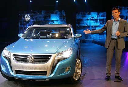 Kleiner Geländewagen: VW-Markenchef Bernhard präsentiert die erste Kostprobe, wie die Zukunft ds Konzerns aussehen könnte
