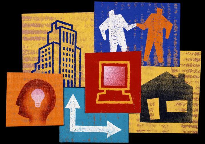Brennpunkt Intranet: Gut gepflegte Angebote können laut NetFed die Produktivität eines Unternehmens erhöhen
