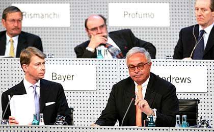Das neue Führungsduo: Interimschef Mathias Hlubek und Aufsichtsratschef Rolf-E. Breuer