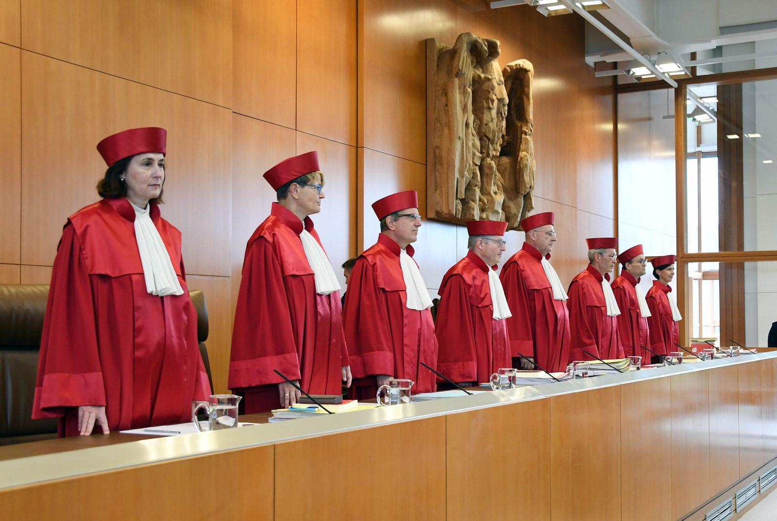 1. Senat Bundesverfassungsgericht