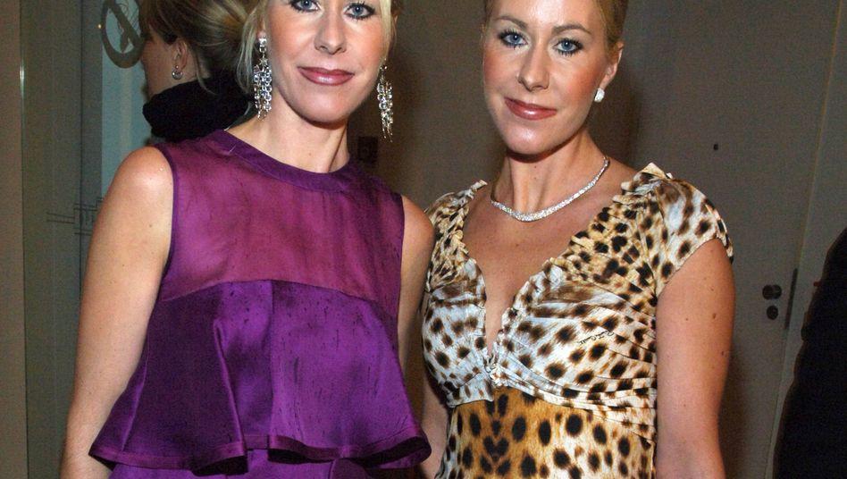 Die Ex-Reederinnen Gisa (l) und Hedda Deilmann.