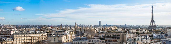 Der 360 Grad-Blick von der Dachterrasse des The Peninsula Paris über die Stadt der Liebe