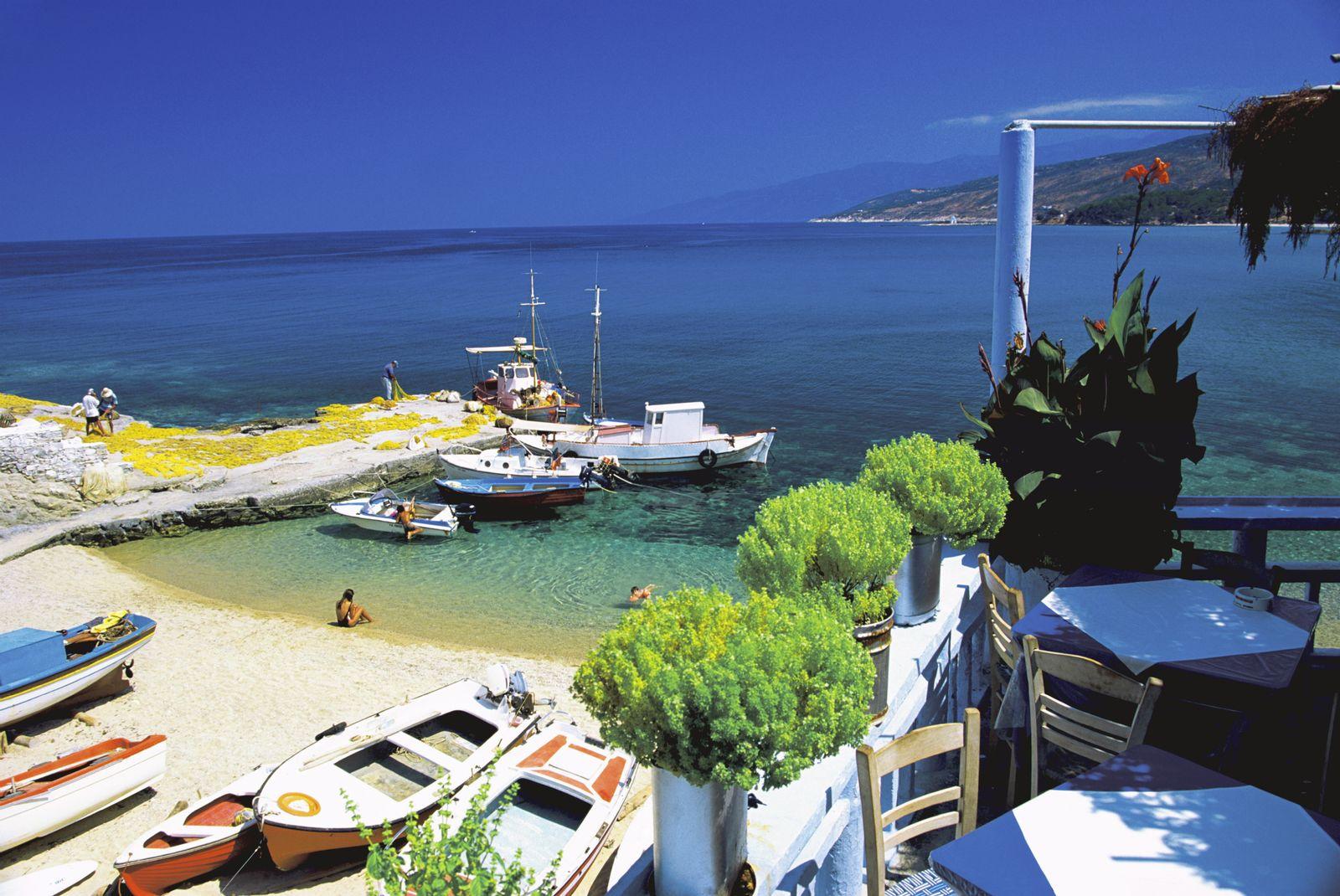 NICHT MEHR VERWENDEN! - Griechenland / Insel / Ikaria / Strand