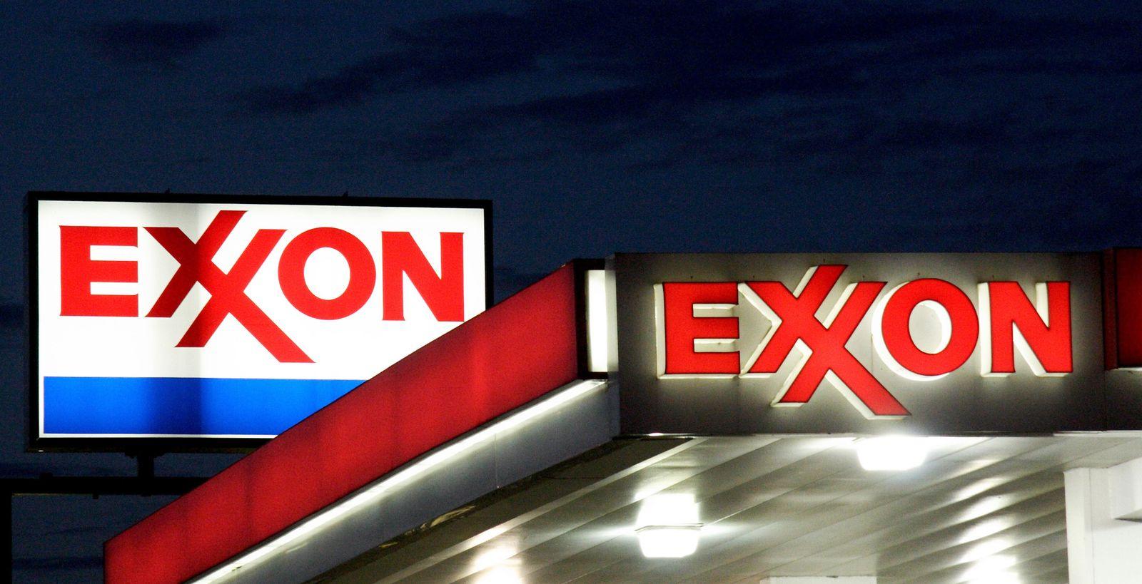 ExxonMobil Tankstelle USA