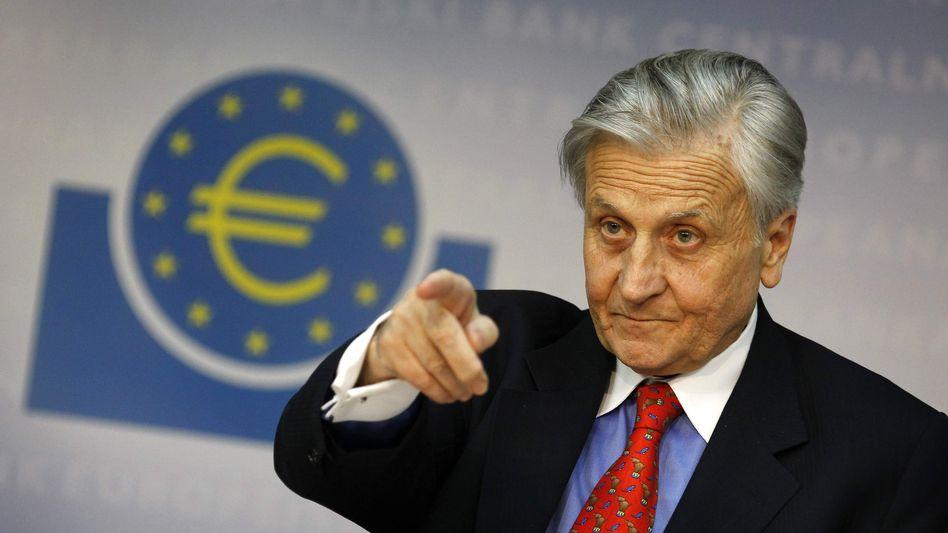 Er gibt die Richtung vor: Jean-Claude Trichet, Präsident der Europäischen Zentralbank, hat die Märkte am Donnerstag auf eine Zinserhöhung im Juli vorbereitet