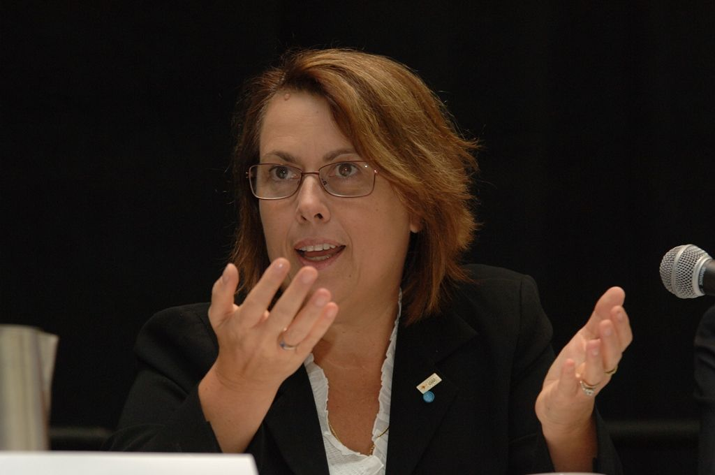 Simonetta di Pippo; Director United Nations Office for Outer Spa