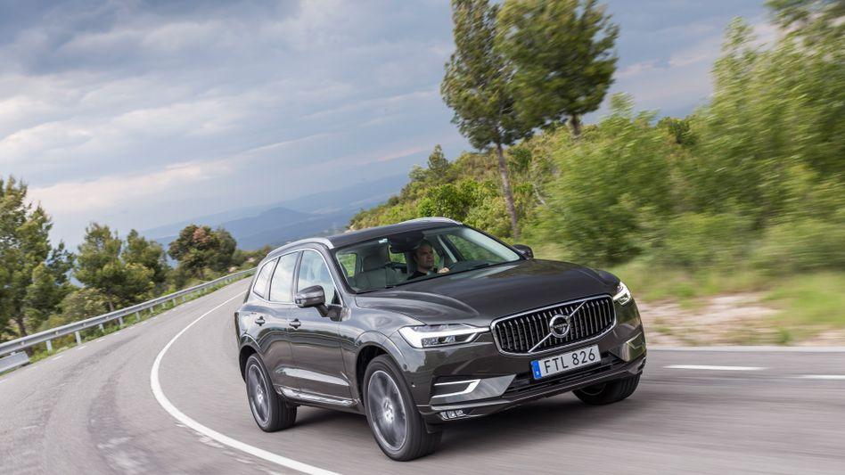 Volvos SUV-Bestseller XC60: Bei Volvo soll künftig stärkere Fahrerüberwachung für mehr Sicherheit sorgen