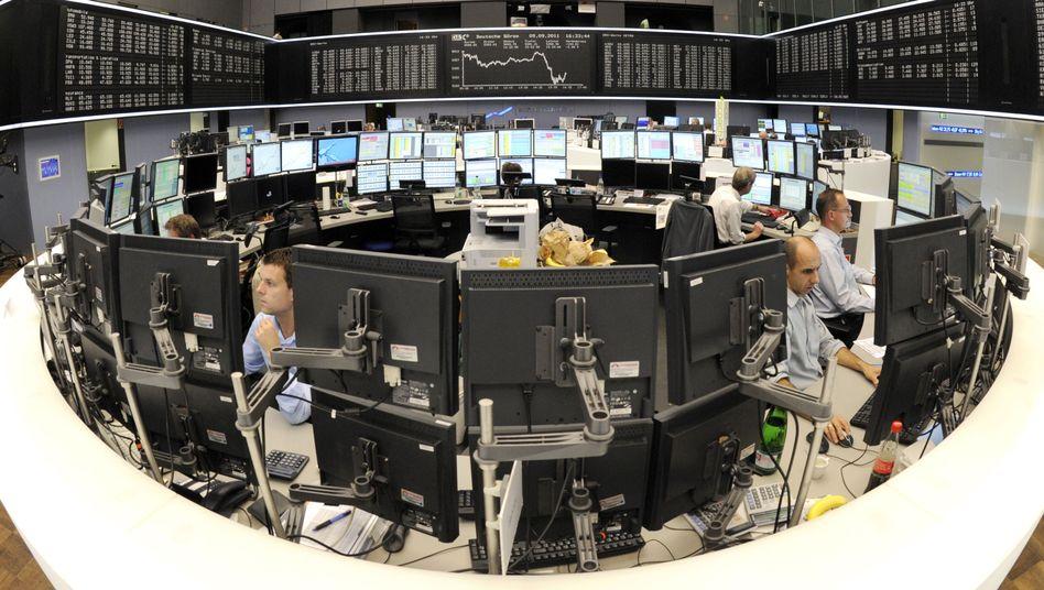 Börse Frankfurt: Der Dax steht am letzten Handelstag der Woche unter Druck