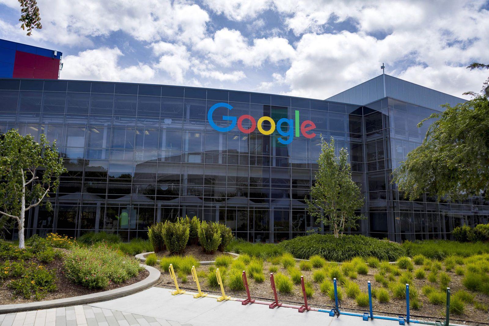 EINMALIGE VERWENDUNG Google/ Mountain View