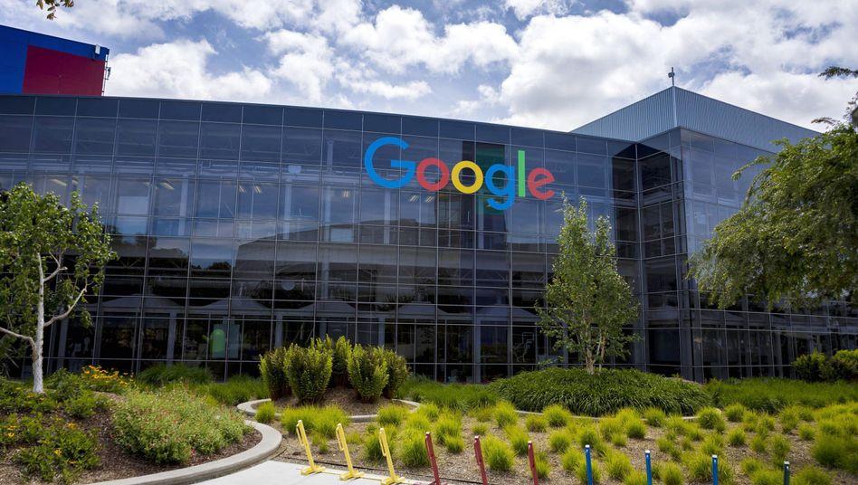 Firmensitz von Google in Mountain View, Kalifornien