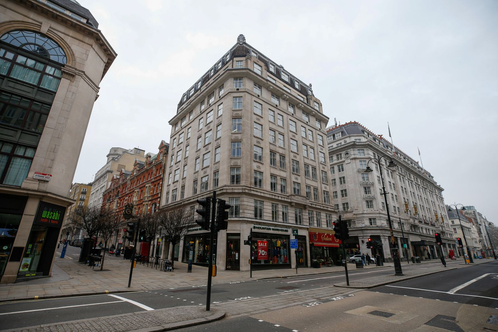 Greensill Capital Headquarters As Company Starts U.K. Insolvency Process
