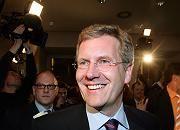 Wahlsieger trotz Einbußen: Ministerpräsident Wulff (CDU)