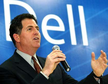 Michael Dell: Der Konzernchef sieht sich einem immer härterem Wettbewerb ausgesetzt