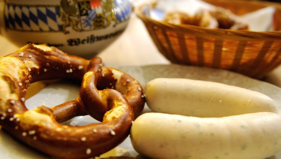 Weißwurst, Breze und der kleine Klecks: Ohne Senf geht es in Bayern nicht.
