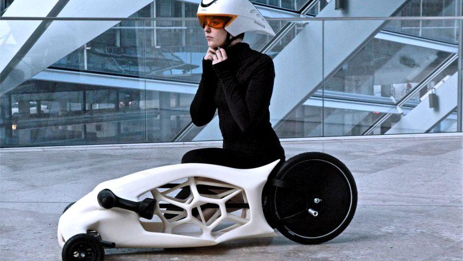 Fahrzeug aus dem 3-D-Drucker: Auch die Hochschule Hildesheim testet die neue Technologie