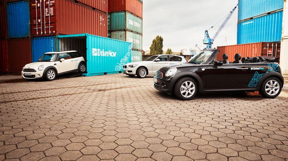 "DriveNow: BMWs Carsharing-Dienst soll mit Daimlers ""Car2Go"" fusionieren"