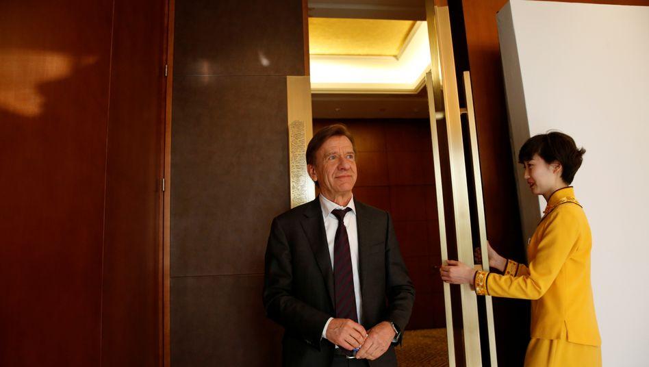 Volvo-Chef Hakan Samuelsson versöhnte die Schweden mit dem Eigner Geely aus China