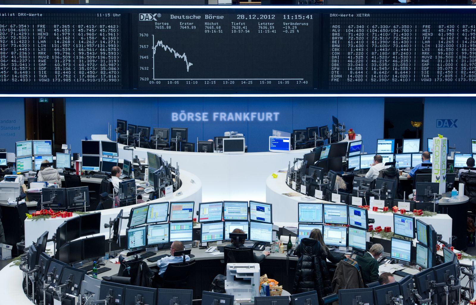 Letzter Handelstag an der Börse