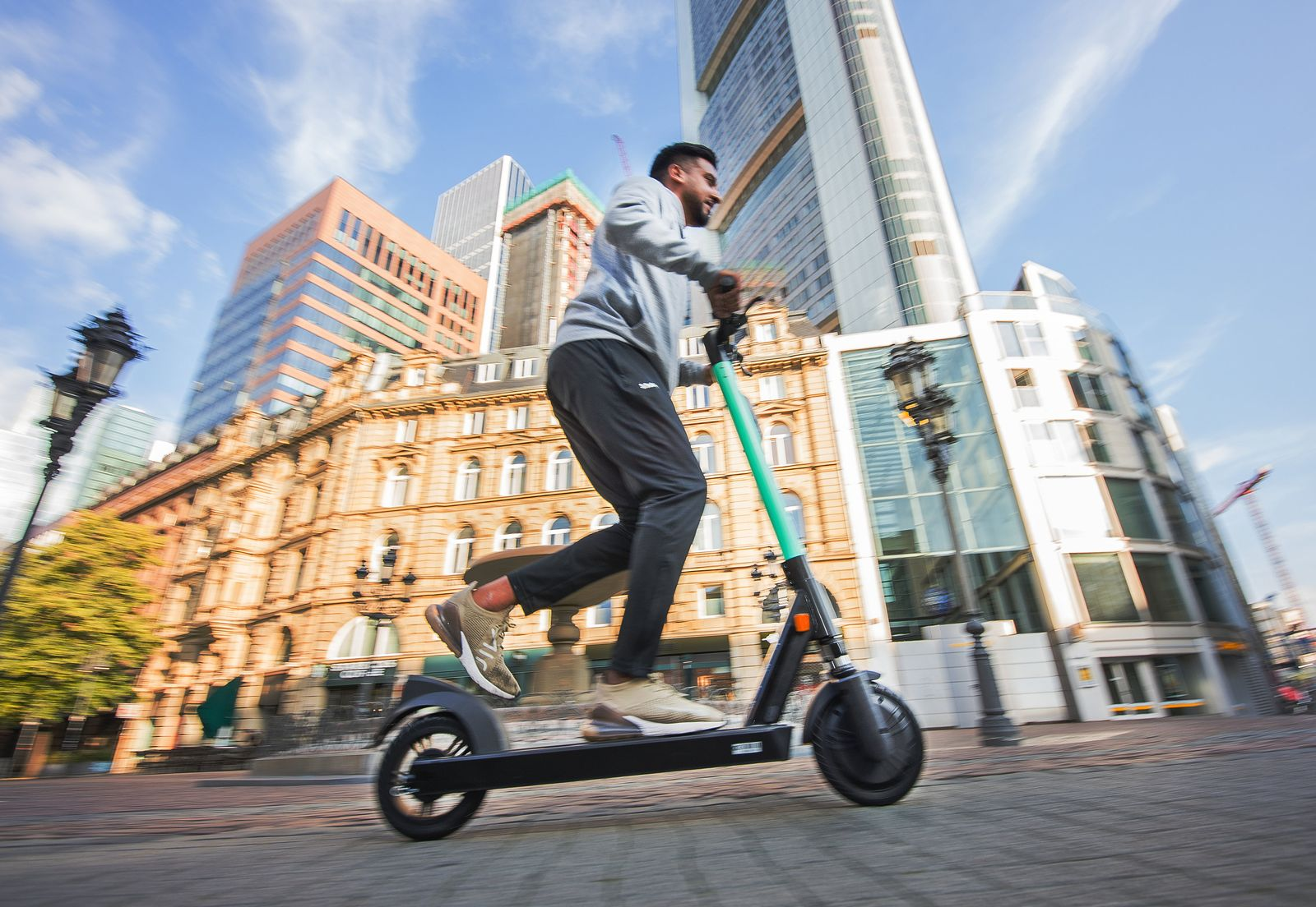 E-Scooter in Frankfurt