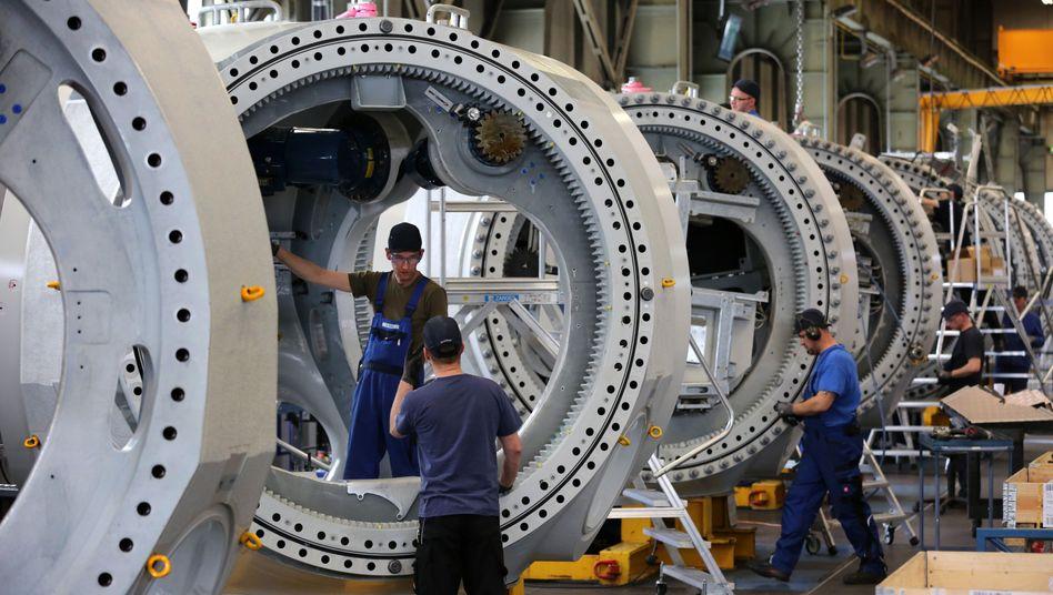 Turbinenbau in Ostdeutschland: Europäische Firmen dürften US-Konzerne demnächst an der Börse schlagen