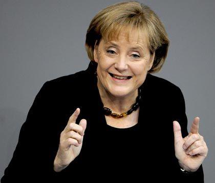 Kanzlerin Merkel: Man muss ihren Kurs waghalsig nennen