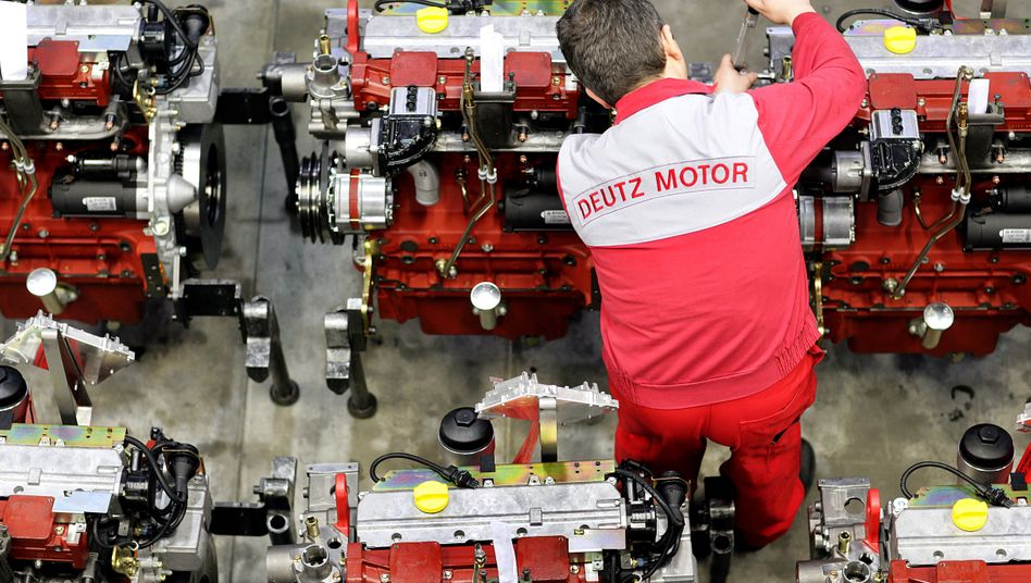 Deutz-Mitarbeiter in Köln: Analysten sehen trotz der Gewinnwarnung keinen Grund zur Sorge