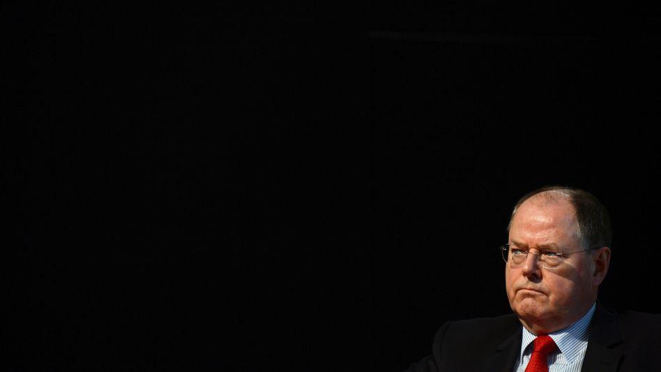 SPD-Kanzlerkandidat Peer Steinbrück: 40 Prozent der befragten Manager plädieren für ein generelles Verbot von Nebenjobs