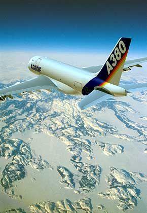 Flug ins Ungewisse: Für den A380F gibt es vorerst keine Interessenten mehr