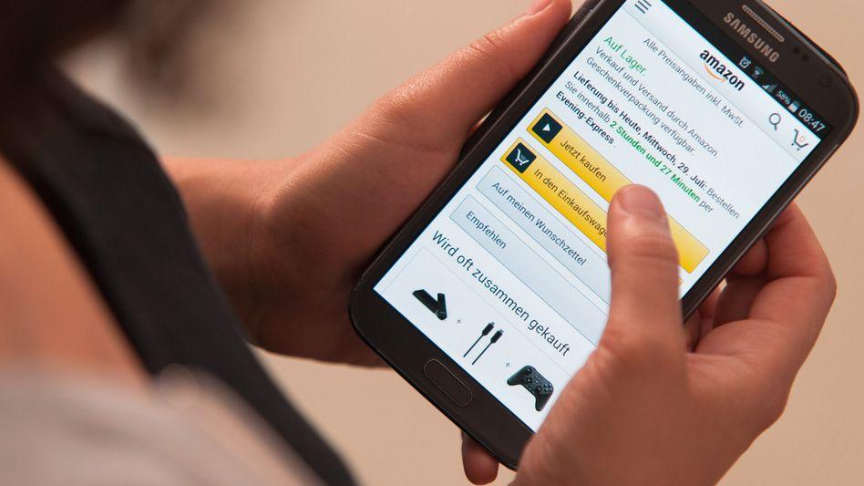 Kaufen bei Amazon: Was auf der Plattform des Onlinehändlers auf wichtigen Positionen erscheint, wird zumeist auch gekauft. Gesteuert wird dies von Algorithmen.